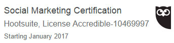 Social Media Certified Profession